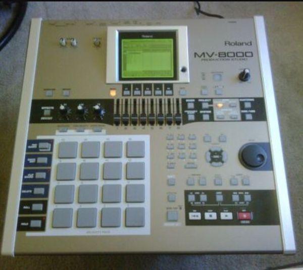 Roland MV-8000 production/sampling workstation