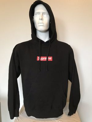🔥🔥 Supreme Black w/ Red Box Logo Hoodie Size Large L EUC bootleg🔥🔥 for Sale in La Mesa, CA