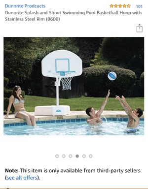 Pool side basketball hoop for Sale in Coral Gables, FL