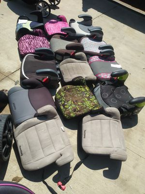 Booster seat 5 each for Sale in Dallas, TX