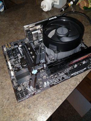 Motherboard, CPU(APU), and RAM combo for Sale in Jacksonville, FL