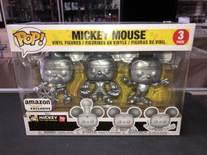 Mickey Mouse the True Original 90 Years 3 pack Amazon Exclusive for Sale in La Habra, CA