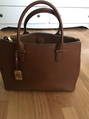 Ralph Lauren leather tote LIKE NEW for Sale in Falls Church, VA