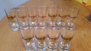 Hard rock cafe shot glasses world wide for Sale in Austin, TX