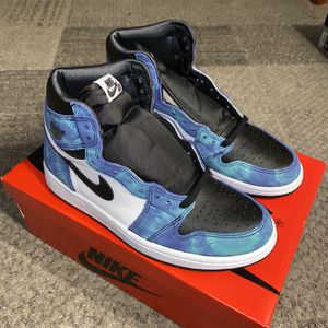 Jordan 1 Tie Dye Mens Size 9.5 Brand New for Sale in Stockton, CA