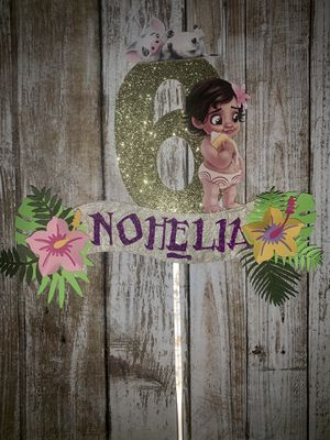 Baby Moana cake topper for Sale in San Jose, CA