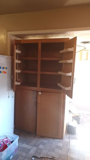 Tall Kitchen cabinet for Sale in Fresno, CA