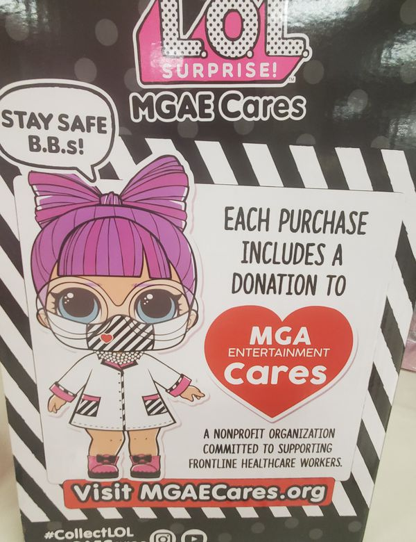 LOL Surprise Doll MGAE Cares Limited Edition