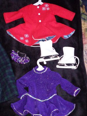 American girl doll winter clothes lot for Sale in El Monte, CA