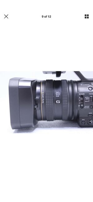Sony HXR-NX5R NXCAM with built in led light for Sale in New York, NY