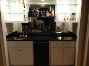 Bar complete with ice maker, granite top and sink. for Sale in Snellville, GA