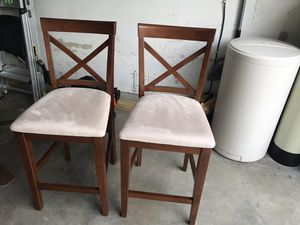 Chairs (stools) for Sale in San Antonio, TX