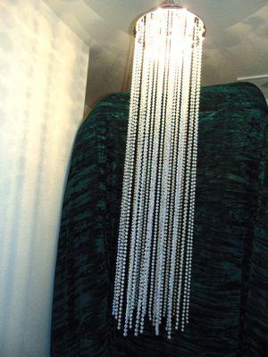 3 ft faux crystal chandelier for Sale in Las Vegas, NV