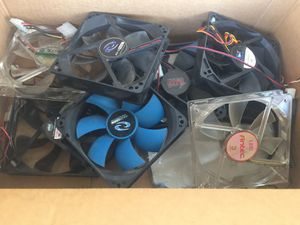 Fans for PC COMPUTER DESKTOP TOWER MANY SIZES: 40 - 120 mm for Sale in Long Beach, CA