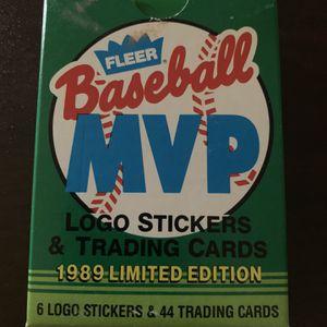 1989 Fleer Baseball MVP Baseball Cards for Sale in Scottsdale, AZ