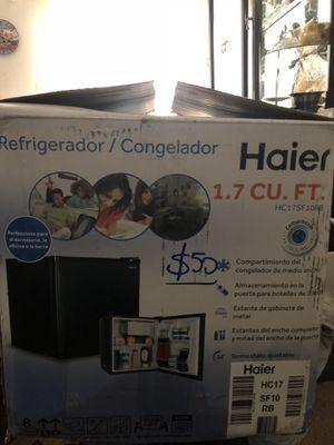 Brown mini fridge $50 in the box for Sale in Fairfax, VA