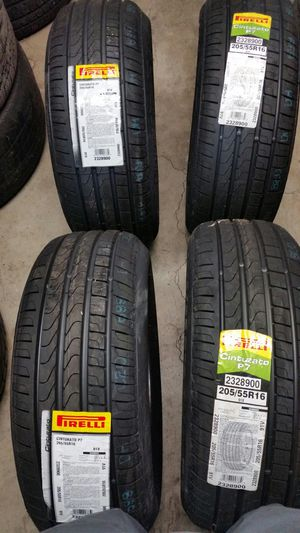 "New tires 205/55r16"" ferrari for Sale in Riverside, CA"
