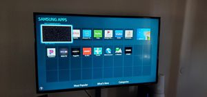 Samsung 55 inch smart TV with TV stand for Sale in Phoenix, AZ