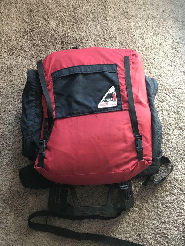 Coleman hiking bag