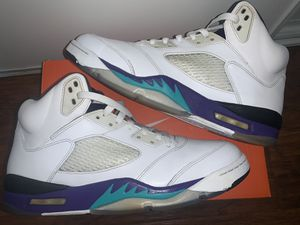 Jordan Retro 5 'Grape' for Sale in Los Angeles, CA