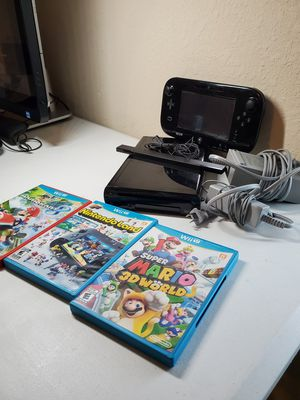 Wii U Bundle for Sale in Pearland, TX