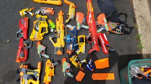 Large assortment of nerf guns for Sale in Brick, NJ