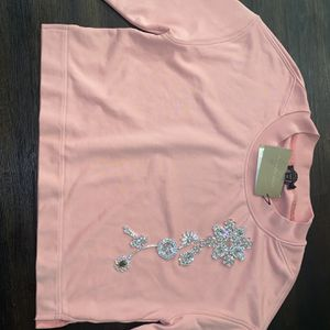 Rose Pink Burberry Sweater for Sale in Decatur, GA