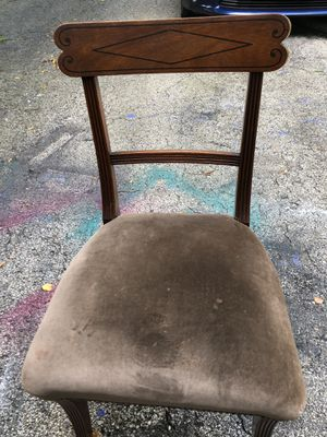 6 antique chairs for Sale in Naperville, IL