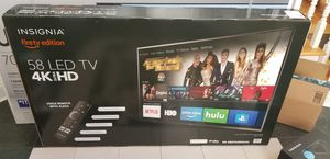 """BRAND NEW SEALED- 58"""" 4K UHD WITH HDR SMART TV - FIRE TV EDITION for Sale in Sully Station, VA"""