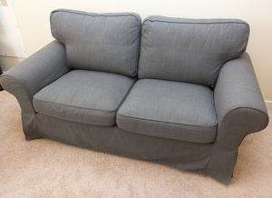 Grey loveseat sofa (like new, 3 months old) for Sale in San Francisco, CA