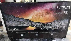 "75"" VIZIO P75-F1 4K UHD HDR SMART TV 240HZ 2160P (FREE DELIVERY) for Sale in Lakewood, WA"