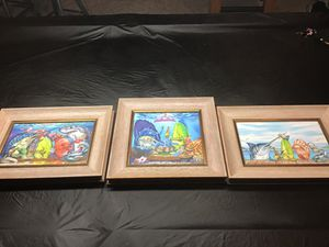 Steve Diossy Artwork (3 framed pieces) for Sale in Gulf Breeze, FL
