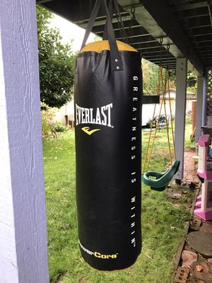 Everlast Power Core Boxing/Punching Bag for Sale in Woodinville, WA