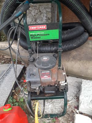 Craftsman pressure washer for Sale in Pittsburgh, PA