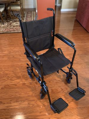 Drive lightweight wheel chair transporter. Holds to 250 lbs like new for Sale in Monroe Township, NJ