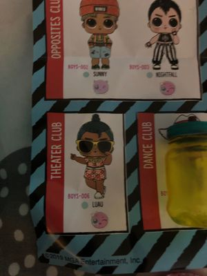 Lol Surprise dolls boys edition for Sale in San Jose, CA