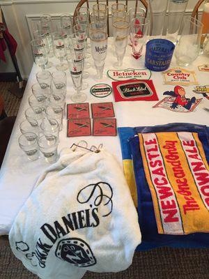 HEINEKEN PILSNER GLASSES VINTAGE for Sale in Alpharetta, GA