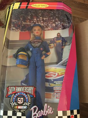 Barbie NASCAR 50th Anniversary Doll for Sale in Franklin, TN