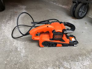 Black and Decker Belt Sander for Sale in Chicago, IL