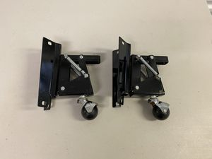 Set of 2 Retracting Caster Wheels for Delta Belt Sander or Table Saw for Sale in Montgomeryville, PA