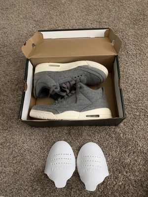 Jordan 3 wool men's size 9.5 need gone for Sale in Lewis Center, OH