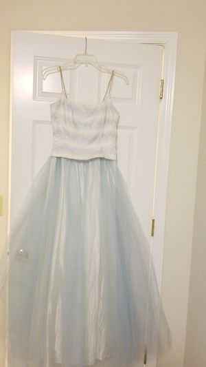Blue floral prom dress for Sale in Olympia, WA