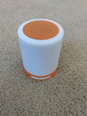 Bluetooth Multi Color Touch Light Speaker for Sale in Tampa, FL