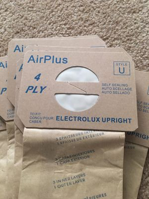 Electrolux upright vacuum bags for Sale in Maricopa, AZ