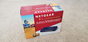 Netgear FS105 Ethernet Switch for Sale in Pingree Grove, IL