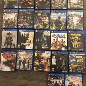 PS4 Games for Sale in New Haven, CT