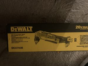 "DeWalt 20v 3/8"" right angle drill/driver. DCD740B for Sale in Lakewood, WA"