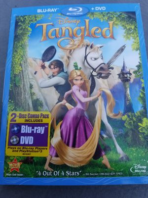 Tangled Blu-ray and dvd for Sale in Des Moines, WA