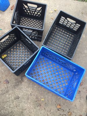 Milk crates for Sale in Boyds, MD