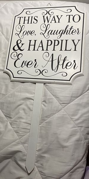 Wedding Sign for Sale in Homestead, FL
